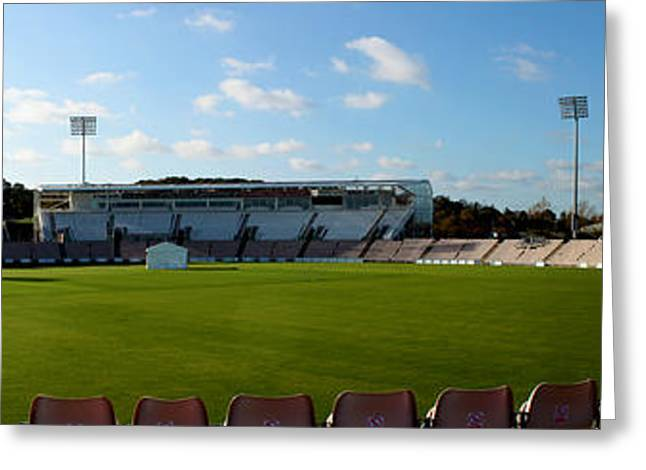 Terri Waters Greeting Cards - Hampshire County Cricket Ground Greeting Card by Terri  Waters