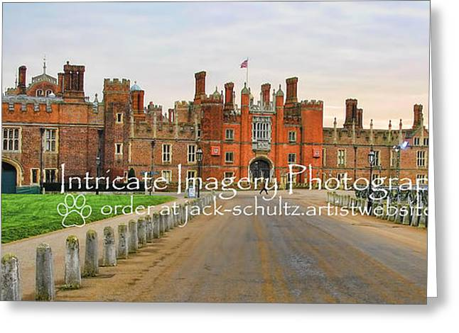 Hamptons Greeting Cards - Hampton Court Palace Greeting Card by Jack Schultz
