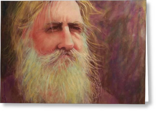 Old Man With Beard Greeting Cards - Handyman Greeting Card by Cynthia Pierson