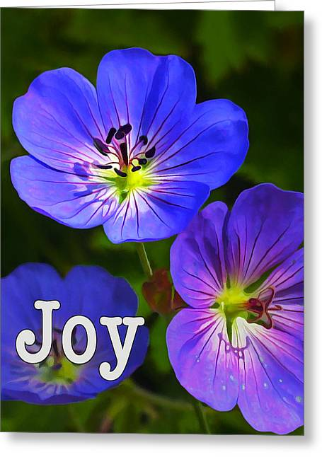 Affirmation Digital Art Greeting Cards - Happy Face - Joy Greeting Card by Bill Caldwell -        ABeautifulSky Photography