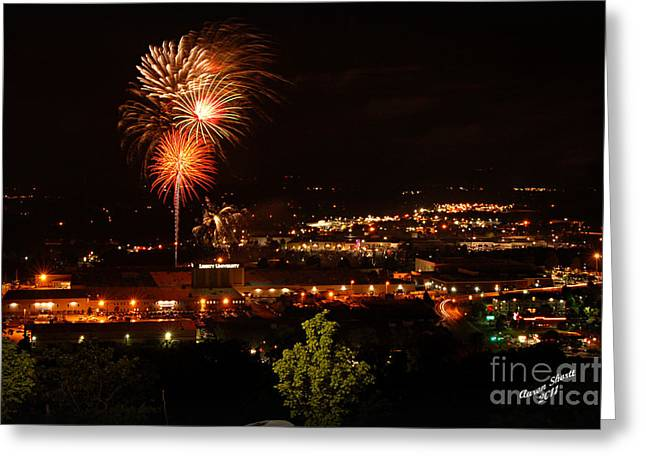 4th July Greeting Cards - Happy Independence Day Greeting Card by Aaron  Shortt
