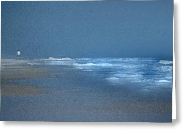 Ocean Art Photos Greeting Cards - Harbor Of Refuge Greeting Card by Skip Willits