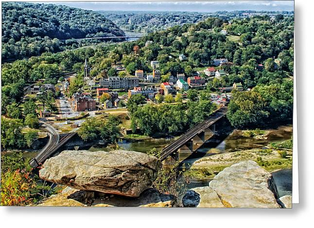 Harpers Ferry Greeting Cards - Harpers Ferry West Virginia Greeting Card by Mountain Dreams