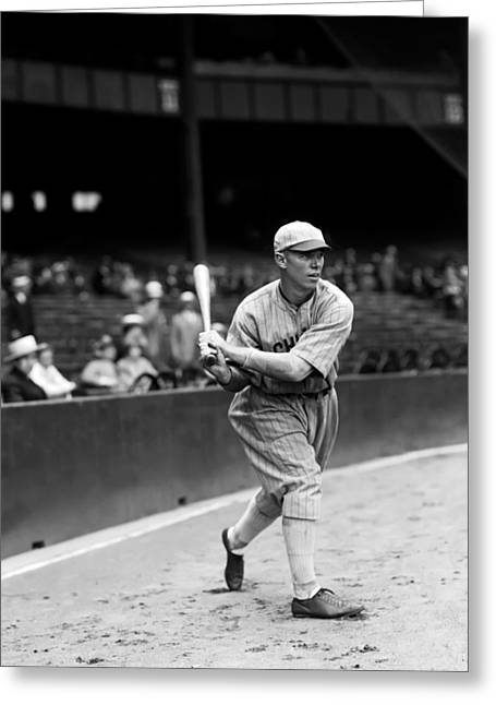 Baseball Bat Greeting Cards - Harry H. McCurdy Greeting Card by Retro Images Archive