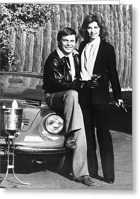Hart Greeting Cards - Hart to Hart  Greeting Card by Silver Screen