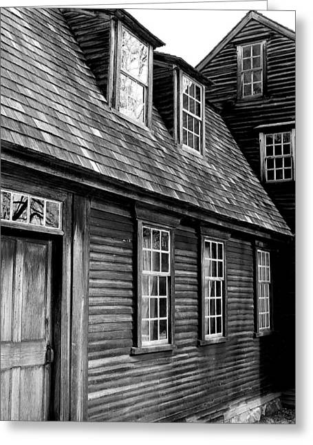 Concord Greeting Cards - Hartwell Tavern 4 Greeting Card by Jeff Heimlich