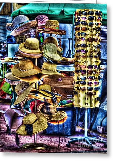 Sun Hat Greeting Cards - Hats Off To You Greeting Card by Arnie Goldstein