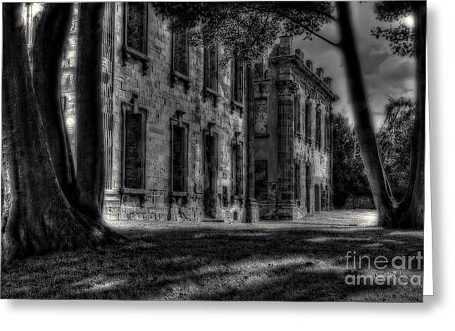 Ghostly Greeting Cards - Haunted Britain 3 Greeting Card by David Birchall