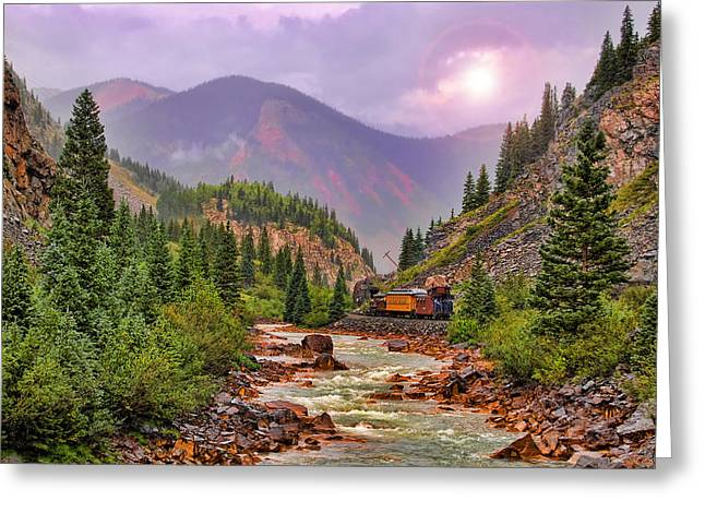 Durango Greeting Cards - Heading Home Greeting Card by Ken Smith