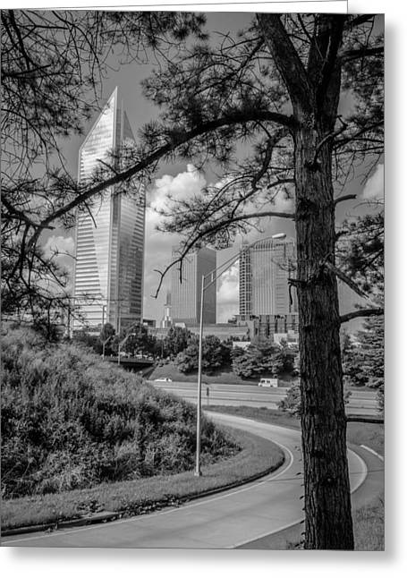 Charlotte Greeting Cards - Heading into Charlotte Greeting Card by Mountain Dreams