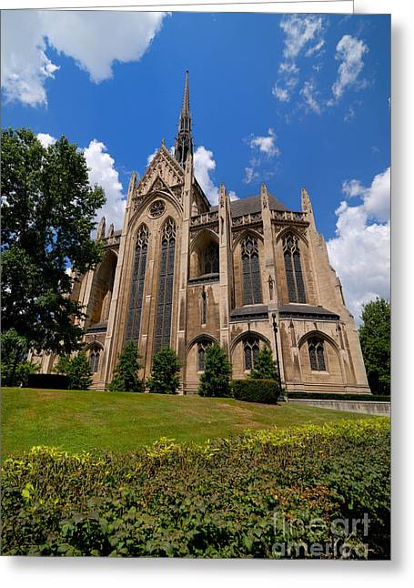 Allegheny Greeting Cards - Heinz Memorial Chapel Pittsburgh Pennsylvania Greeting Card by Amy Cicconi