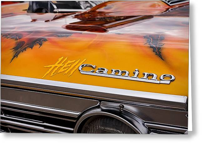 Dragway Greeting Cards - Hell Camino Greeting Card by Jeff Sinon