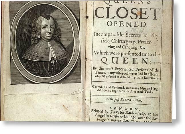 Henrietta Maria Greeting Card by British Library