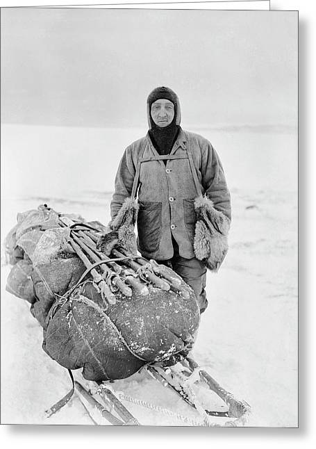Henry Bowers Greeting Card by Scott Polar Research Institute
