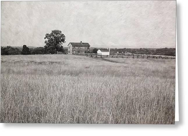 Civil Greeting Cards - Henry House at Manassas Battlefield Park Greeting Card by Kim Hojnacki