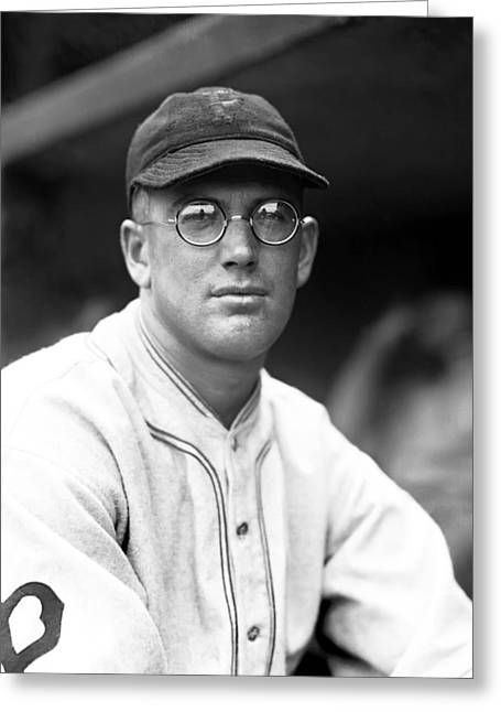 Pittsburgh Pirates Photographs Greeting Cards - Henry L. Lee Meadows Greeting Card by Retro Images Archive