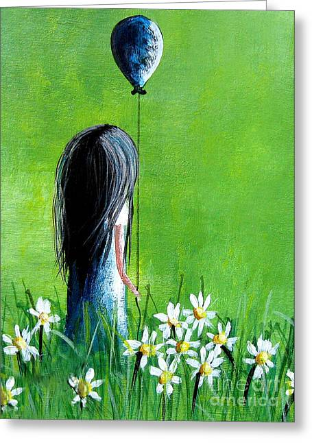 Her Hope Is Endless By Shawna Erback Greeting Card by Shawna Erback
