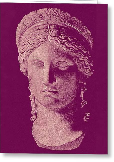 Greek Sculpture Greeting Cards - Hera Greeting Card by Ellen Henneke