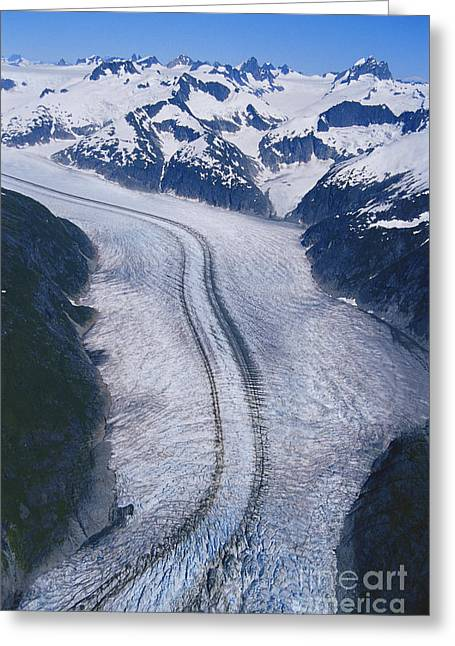Merging Greeting Cards - Herbert Glacier Greeting Card by Gregory G. Dimijian, M.D.