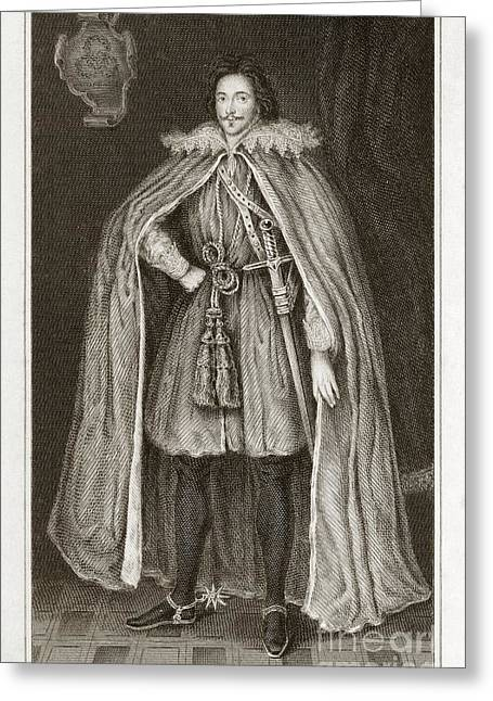 Metaphysics Greeting Cards - Herbert Of Cherbury, English Philosopher Greeting Card by Middle Temple Library