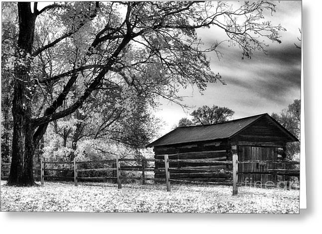 The Hermitage Greeting Cards - Hermitage Cabin Greeting Card by Jeff Holbrook