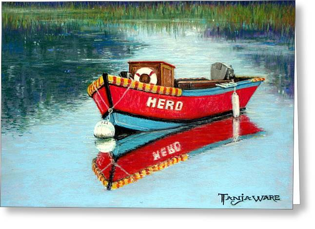 Nautical Pastels Greeting Cards - Hero Greeting Card by Tanja Ware