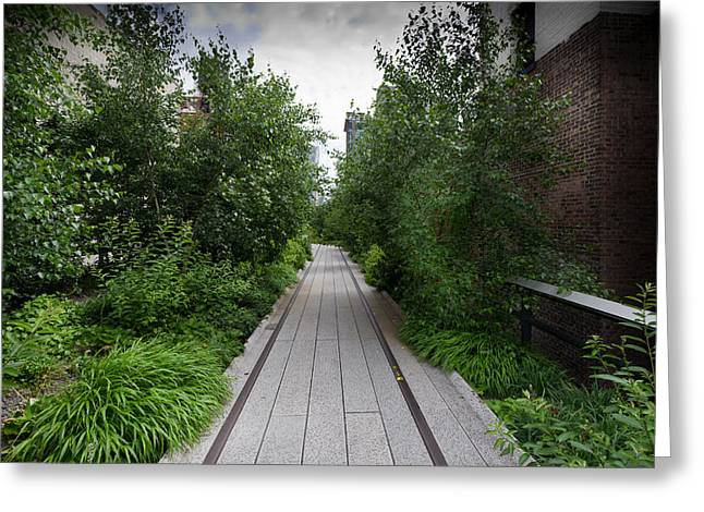 High Line Greeting Cards - High Line NYC Greeting Card by Gary Eason