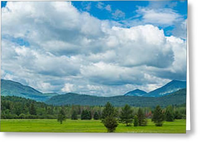Adirondack Mountains Greeting Cards - High Peaks Area Of The Adirondack Greeting Card by Panoramic Images