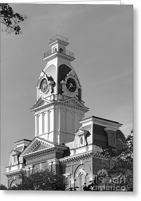 Conservative Greeting Cards - Hillsdale College Central Hall Greeting Card by University Icons