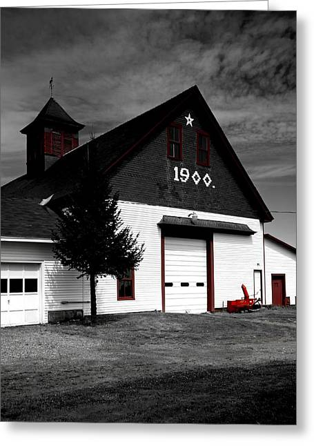 Cupola Greeting Cards - Historic Barn Greeting Card by Mountain Dreams