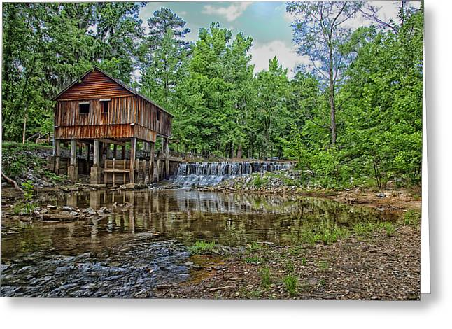 Rikard Greeting Cards - Historic Rikards Mill in Virginia Greeting Card by Mountain Dreams