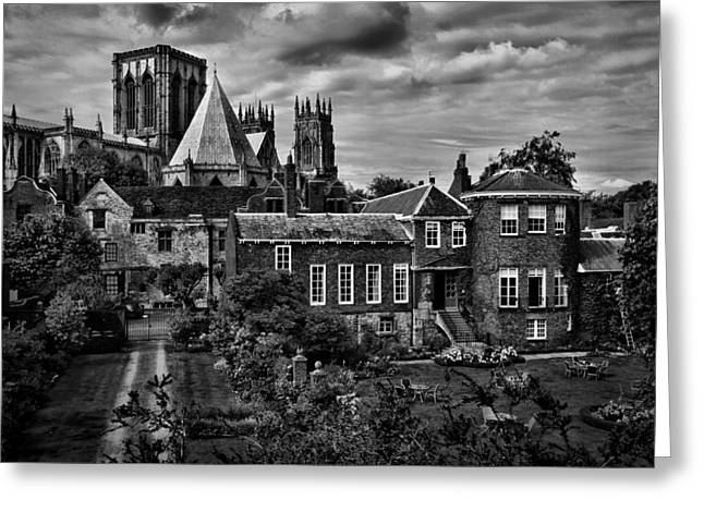 Minster Greeting Cards - Historic York Minster Greeting Card by Mountain Dreams