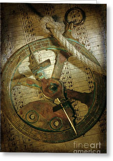 The Past Greeting Cards - Historical navigation Greeting Card by Bernard Jaubert