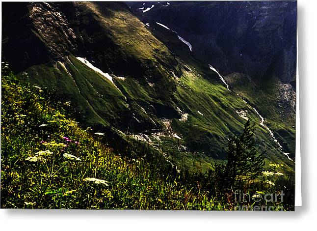 Color Stretching Greeting Cards - Hohe Tauern National Park Austria Greeting Card by Gerlinde Keating - Keating Associates Inc