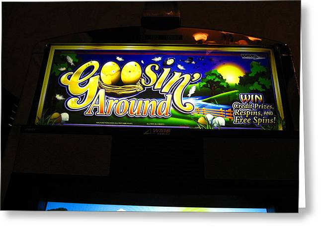 Game Greeting Cards - Hollywood Casino at Charles Town Races - 12125 Greeting Card by DC Photographer