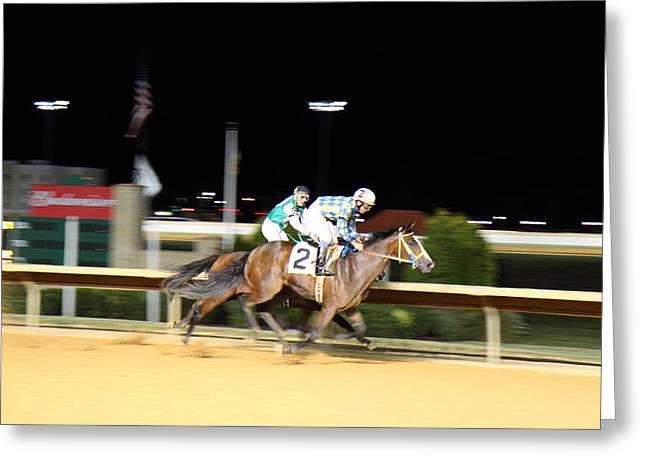 Games Photographs Greeting Cards - Hollywood Casino at Charles Town Races - 12129 Greeting Card by DC Photographer
