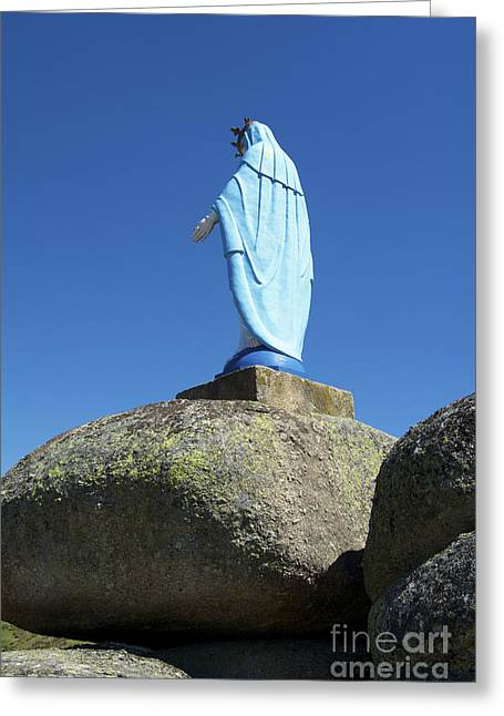 Field Rocks Greeting Cards - Holy Virgin Greeting Card by Bernard Jaubert