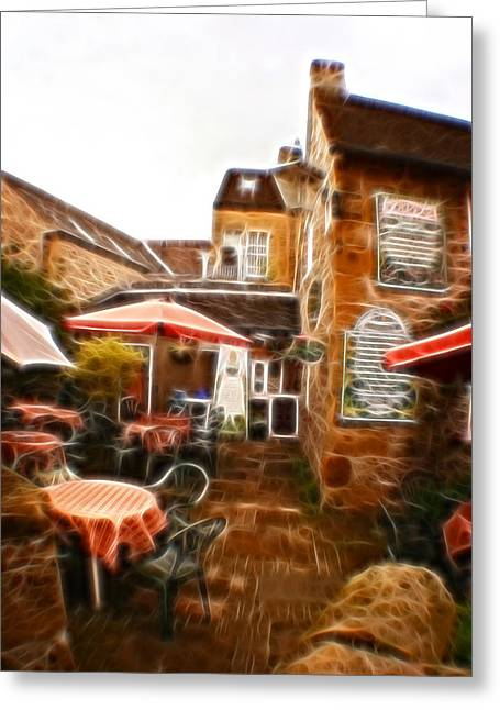History Derbyshire Greeting Cards - Home made Austrian Sausages Since 1889. Greeting Card by Michael Braham