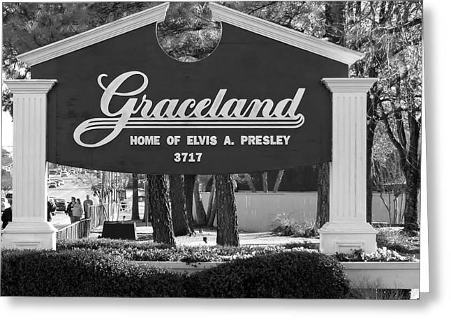Tennessee Landmark Greeting Cards - Home of Elvis Greeting Card by Mountain Dreams