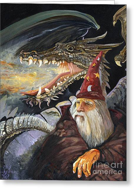 Storybook Greeting Cards - Homecoming Greeting Card by J W Baker