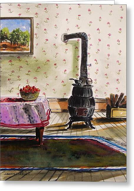 Interior Still Life Greeting Cards - Homestead Room Greeting Card by John  Williams