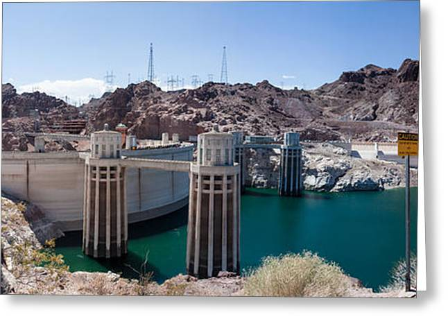 Generators Greeting Cards - Hoover Dam Greeting Card by Jim Finch