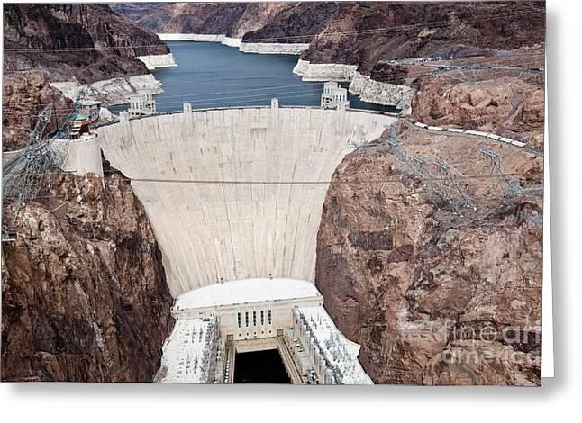 Hoover Dam Greeting Cards - Hoover Dam Greeting Card by William H. Mullins