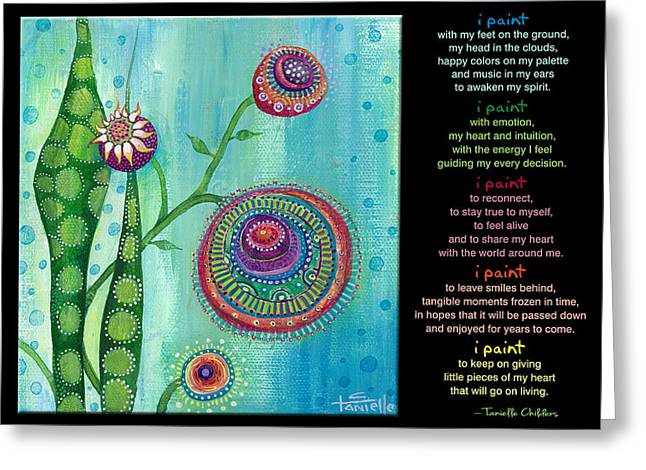 Beauty In Nature Paintings Greeting Cards - Hope Greeting Card by Tanielle Childers