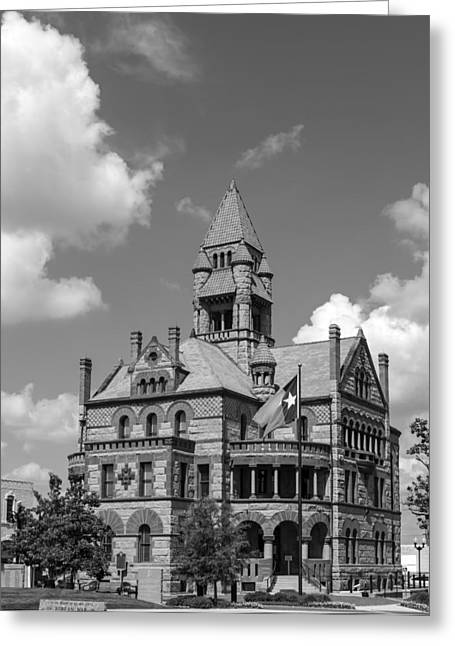 Sulphur Spring Greeting Cards - Hopkins County Courthouse Greeting Card by Mountain Dreams