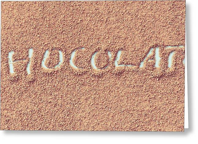 Instant Greeting Cards - Hot chocolate Greeting Card by Tom Gowanlock