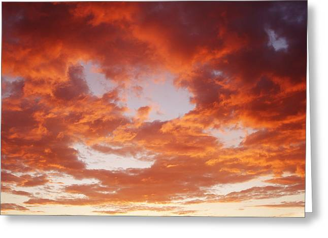Warm Weather Greeting Cards - Hot sky Greeting Card by Les Cunliffe