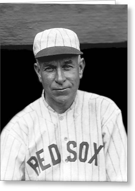 Boston Red Sox Greeting Cards - Hugh Duffy Greeting Card by Retro Images Archive