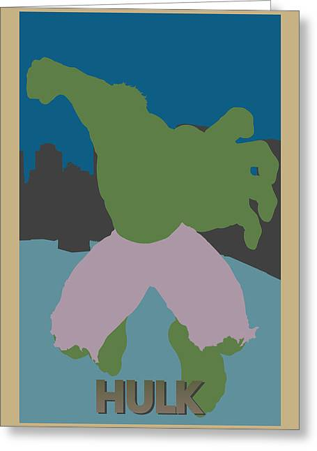 Thor Photographs Greeting Cards - Hulk Greeting Card by Joe Hamilton