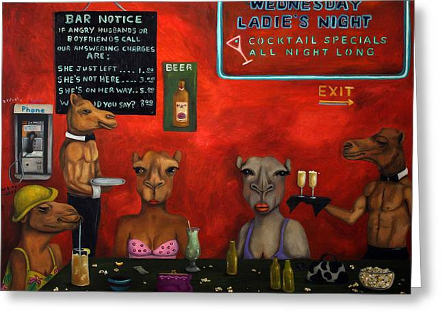 Hump Greeting Cards - Hump Day Greeting Card by Leah Saulnier The Painting Maniac